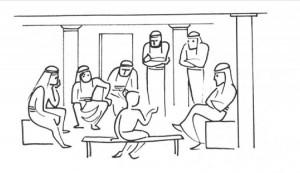 JESUS TEACHING THE TEACHERS